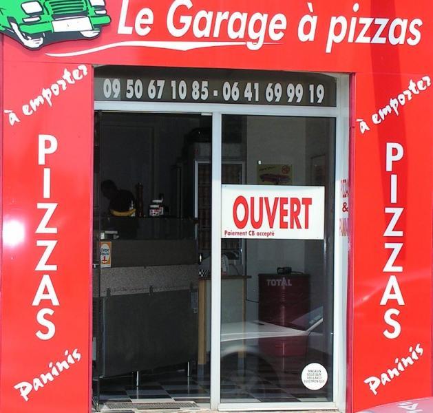 Le garage a pizza nort sur erdre restaurant nort sur for Le garage a pizza